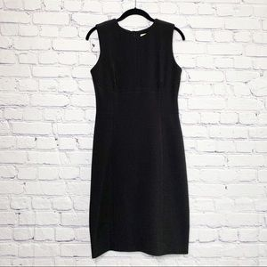 MM Lafleur Shirley Black Dress Sleeveless 6